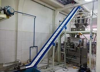 Esteira automatizada para indústria alimentícia