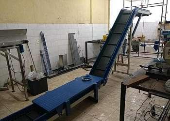 Empresa de esteira de lona industrial